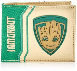 Gardiens de la Marvel Comics Galaxy Vol. 2 I Am cas de carte de crédit Groot Faltportemonnaie, 17 cm, blanc / vert de la marque Guardians-Of-The-Galaxy image 0 produit